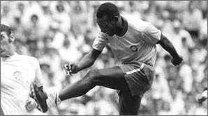 Pele in the 1970 World Cup