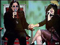 Ozzy Osbourne with daughter Kelly