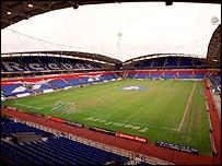 Bolton Wanderers' Reebok Stadium