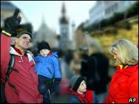 سياح أمريكيون في ألمانيا