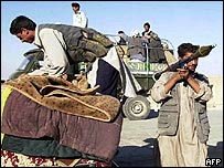 Tajik militiamen