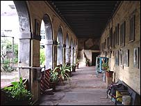 Armenian church cloister