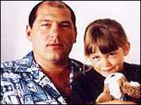 Jack Whomes and daughter