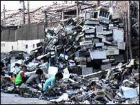 Computer dump in India