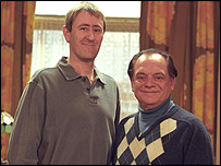 Rodney and Derek Trotter, played by Nicholas Lyndhurst (l) and David Jason
