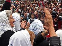 Madres de Plaza de Mayo recordaron este miércoles a las víctimas del gobierno militar