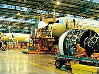 Airbus plant inToulouse