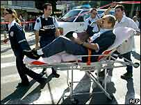 Man injured in Tel Aviv blast