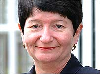Professor Alison Richard, vice-chancellor of Cambridge University