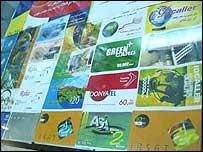 Internet cards