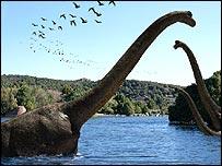 Brachiosaurus, BBC