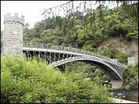 Craigellachie bridge/Undiscovered Scotland