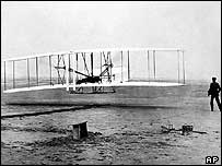 Wright brothers' Flyer