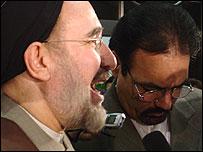 Iran's President Mohammad Khatami