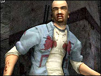 Screenshot of Manhunt for PS2