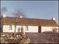 Original Laverty cottage in County Donegal