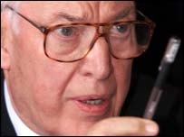 "Ian Paisley said ""arsenal of blood weapons"" must be destroyed"