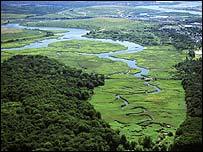 Waterways in Fresh Kills