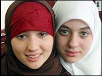 Two Paris sisters