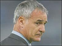 Claudio Ranieri, entrenador del Chelsea FC.