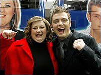Mark Rhodes and Michelle McManus