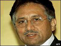Pakistan President Pervez Musharraf, November 2003