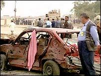 Baghdad debris