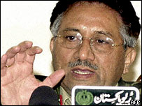 President Pervez Musharraf (archive picture)