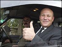 Turkish Cypriot opposition leader Mehmet Ali Talat
