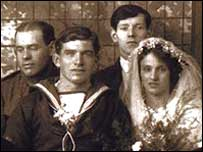 Family portrait from during WWI