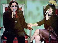 Ozzy and Kelly Osbourne
