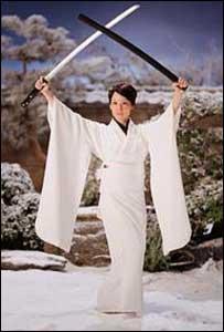 Lucy Liu in Kill Bill