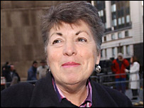 Rosemary Webb outside court