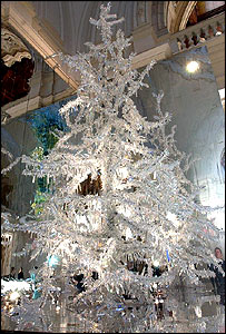 crystal christmas tree - Crystal Christmas Tree