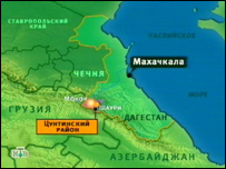 Карта региона событий