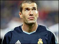 France and Real Madrid star Zinedine Zidane