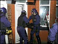 Officers on Operation Margate