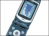 NEC 3G phone