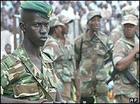 Burundi soldier