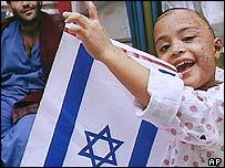 Israeli girl injured in a Scud attack in 1991