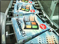 Copies of Windows 98 software