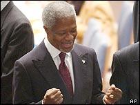 UN Secretary-General Kofi Annan