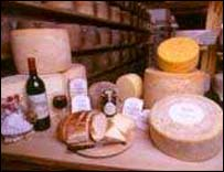 Welsh farmhouse cheeses