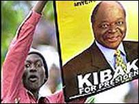 Elecciones presidenciales en Kenia, diciembre de 2002
