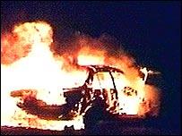 Wednesday's bomb blaze
