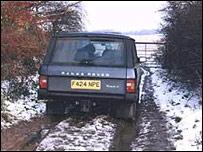 Rettendon Range Rover
