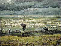 Van Gogh's View of the Sea at Scheveningen