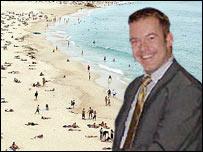 BBC Wales meteorologist Derek Brockway