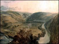 Gibside by Turner
