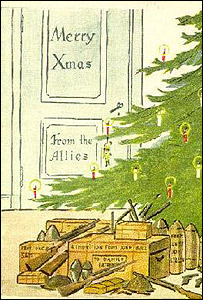 Bbc news special reports the politics of christmas cards an allied card to the danes m4hsunfo